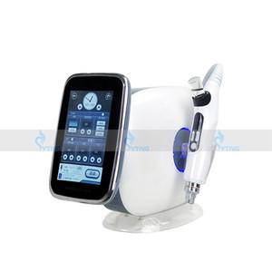 Pantalla LCD Sin aguja Meso terapia Pistola sin agujas Mesoterapia Mesogun EMS Radio Frecuencia RF Elevación Anti arrugas Máquina de rejuvenecimiento