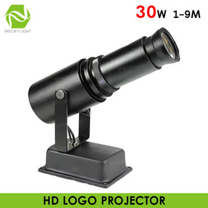 Indoor 30W HD COB LED Custom Image Business Logo Projector buy Bluetooth 30W Shopping Mall Villa Hotel Advertising Image Logo Projection