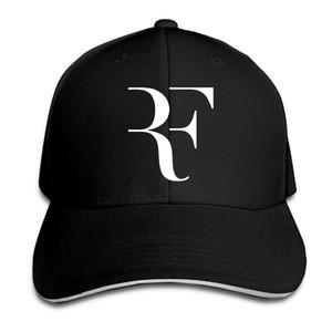 Beyzbol Şapkası Roger Federer RF baskı Mens Womens Kedi Kapaklar Hip Hop Beyzbol Kapaklar Ayarlanabilir Snapback Kapaklar Şapkalar Adam Femal Şapka