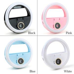 USB Charge LED Selfie Anneau Lumière Macro Cils Tir Éclairage Selfie Amélioration Remplissage Lumière Pour Téléphones Cils Extension Outil