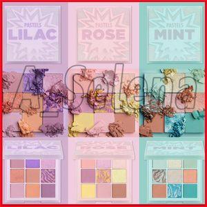 2020 Nova PASTEL Eyeshadow paletas brilhante Eyeshadow Palette Shimmer Matte Glitter Metallic pigmentado portáteis Olhos Makeup Palette Cosmetic