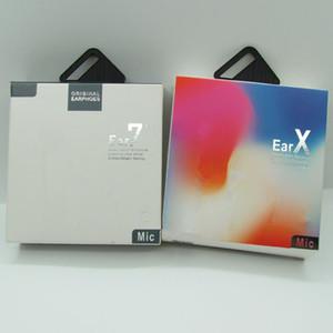 pop up chaud dans l'oreille d'éclairage casque filaire Bluetooth écouteurs avec microphone pour téléphone XR X XS MAX 8 7