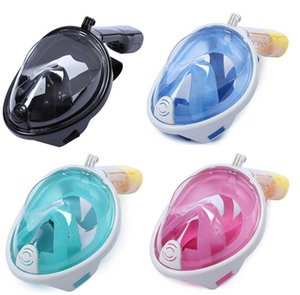 Adult Teenager Diving Mask Underwater Scuba Anti Fog Full Face Diving Mask Snorkeling Set with Anti-skid Ring Snorkel mask 2019