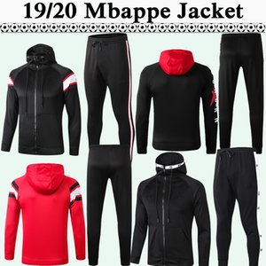 19 20 Draxler Mbappé Mens Hat Sweater Terno de Futebol CAVANI ICARDI Hat Jacket Top DI MARIA camisas do futebol da Capuche roupas de inverno
