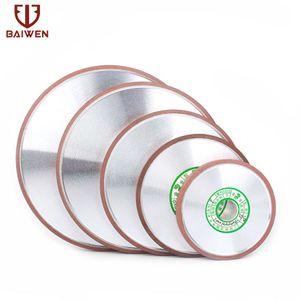 Değirmen Bileme Tungsten Çelik Karbür Döner Aşındırıcı Tools 150 Kum 150mm Elmas Taş elmas disk keskinleştirme