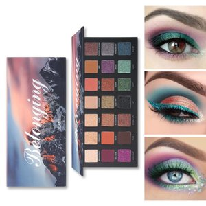 Eyeshadow Palette Shimmer 21 Colors Eyeshadow Palette Blending Matte Glitter and Shine Makeup Cosmetics