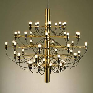 Gino sarfatti design Chandelier Lighting Living room Bedroom Staircase Chandelier Black Rose Gold branch Wire Chandelier Lamp
