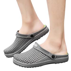 # 5 Chaussures trous d'été Sandales de pantoufles pour hommes nouveaux hommes Outdoor Hommes Sandales Respirant Casual extérieure non-Slip Plage Slipper