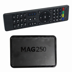 MAG 250 MAG Set Top Box MAG250 sistema Linux in streaming Home Theater Sysytem Linux TV Box Media Player Uguale MAG322