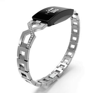 스테인레스 스틸 밴드 Fitbit Inspire 크리스탈 금속 팔찌 Fitbit 고무 스트랩 밴드 Correa Fitbit 시계 밴드 62014에 대 한 Inspire에 대 한