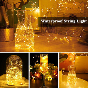 20M 200 LED Christmas String Fairy Light Wedding Party Birthday Decor Outdoor Indoor USB Twinkle Copper Wire Remote Light Waterproof