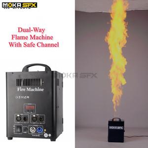 200 Вт DMX 512 этап пожарная машина пламя проектор огонь спрей машина этап эффект оборудование Бесплатная доставка МОКа