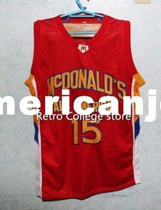 #15 Blake Griffin Dolphins McDonald ALL AMERICAN high quality basketball jersey Retro Top stitched Sewn Customize an XS-6XL vest Jerseys Nca