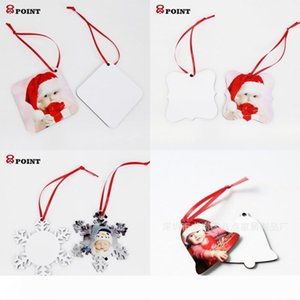 A DIY Hot Transfer Printing Ornament Household Sublimation MDF Wooden Pendant Eco Friendly Decorations Supplies For Christmas 2 21
