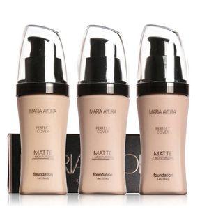 MARIA AYORA Крем-основа для лица Укрыватель для лица Яркий водостойкий полный охват Профессиональный макияж для лица Матовая основа для макияжа 72 шт. / Лот