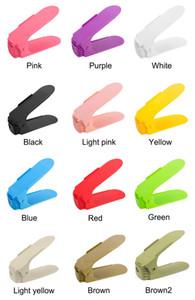 10 pcs Chaussures Organisateur De Stockage Chaussures Space Saving Cabinet Rack Pour Salon Boîte À Chaussures Space Saving Stand Plateau En Gros
