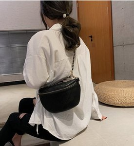 Petit sac Femme 2020 New Wave Tout match Messenger Chaîne Rhombus mode Sac Chest multifonctions sac de taille Meilleures ventes