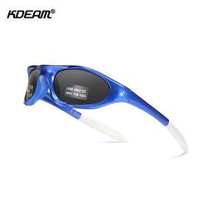 Kdeam Lead-Free Kids поляризованные очки Композитные очки Оттенки для детей мальчиков девочек и младенцев Возраст 2-10 Дело в комплекте DGJBa