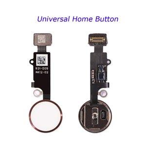 Универсальный телефон Home Button Repair Flex Flex Fingerprint Flex Cable для iPhone 7 8 Plus Вернуться домой Функция Решение 3-го поколения