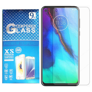 For LG K51 Boost Mobile Stylo 6 Tempered Glass Motorola Moto G Stylus 2020 G7 Power Metro Cear Screen Protector Film With Package