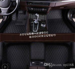 For Volvo V60 2011~2017 leather Car Floor Mats Waterproof Mat, automotive interior parts, automotive supplies