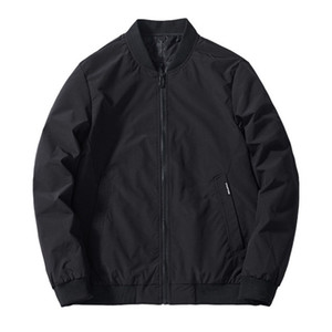 Men's Jackets Men Bomber Jacket Thin 2021 Brand Spring Autumn Casual Baseball Overcoat Plus Size 6XL 7XL 8XL