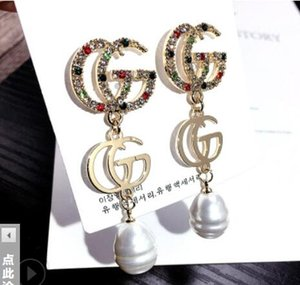 NEW And Round Popular TV Silver Stud Jewelry Glass Photo Ear Stainless Steel gold filled earrings for women Brand7