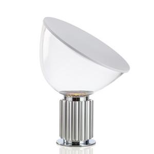 Nordic Modern Glass Radar Настольные лампы Простой Bedroom Прикроватная Study отель Модель Дизайн номеров Стол Lights Освещение Декор Светильники