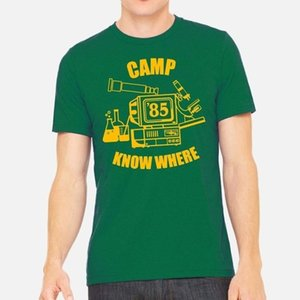 Campo so dove Green T-shirt unisex Stranger Things Stagione 3 anni 80 Dustin tee shirt regalo Vintage Fashion