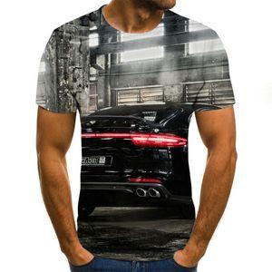 Beliebte Reiten ein Motorrad-Schädel 3D-Druck-T-Shirt Männer Frauen T-Shirt-Sommer-beiläufige kurze Hülsen O-Ansatz Street TopsTees