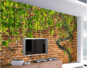 3d room wallpaper custom photo mural Tree vine elegant plant S-type high-end cultivation wallpaper for walls 3 d