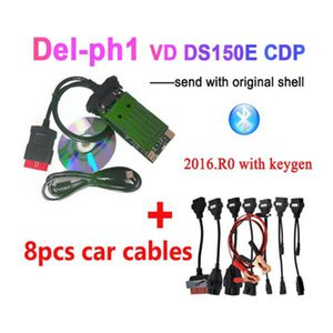 2020 Best Quality New VCI with bluetooth OBD2 diagnostic tool for delphis VD DS150E CDP 2020.R0 keygen obd scanner for car truck