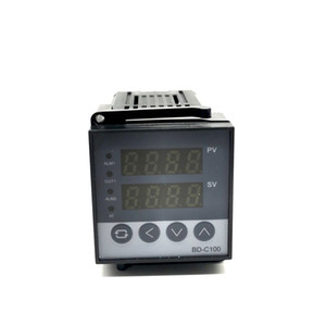 REX-C100 Digital PID Controlador de Temperatura Termostato Relé / SSR saída 0 to1300C com termopar tipo K Sonda Sensor