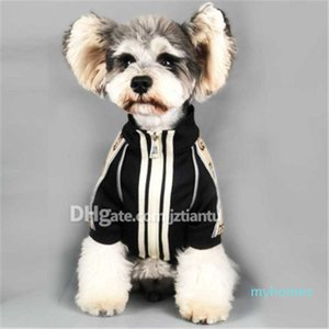 Bahar Sonbahar moda rahat tasarım köpek gömlek Yüksek Kalite kişilik Pet Coat Noel günü hediye GG mektup desen Giyim hediye