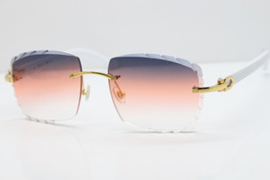도매 무테 화이트 아즈텍 선글라스 핫 금속 믹스 무기 3524012 태양 안경 남여 고양이 눈 선글라스 화 감청색 오렌지 렌즈 새로운 안경