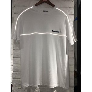 19SS Adererror T Shirts Reflective Embroidery Men Women Ader error Top Tees Casual Cotton High quality Ader Error T-Shirts SH190828