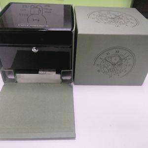 مزود مصنع الساعات الفاخرة صناديق العلامة التجارية صناديق ساعة الحالات الكمالية ساعة العرض مربع لAP مع العمل الورق