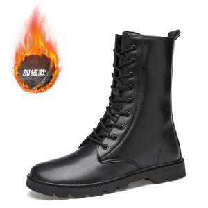 Toe Aço Couro Pele botas homens Combate bot infantaria botas táticas do exército bot sapatos bots exército askeri