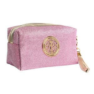 Women Cosmetic Bag Travel Make Up Bags Fashion Ladies Makeup Pouch Neceser Toiletry Organizer Case Clutch Tote Hot Sale (Retail)