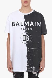 Luxurious 2019 Balmbrand T Shirts Clothing Designers Tees Black White Mens Womens Slim Balm France Paris Brand