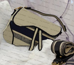Spalla del progettista del messaggero borse da donna di alta qualità Borsa Boutique Saddle bag Shopping Bag raccoglitore di modo classico delle donne Borse