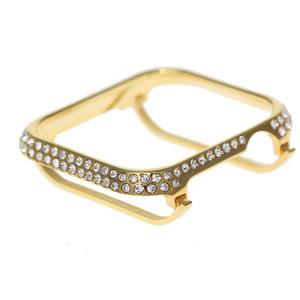For Apple Watch Series 4 Crystal Diamond Jewelry Bezel case iWatch Luxury Watch Case 40mm 44mm
