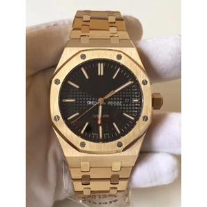 Reloj de pulsera impermeable de 50 metros Reloj deportivo de acero inoxidable Relojes mecánicos superiores para hombres