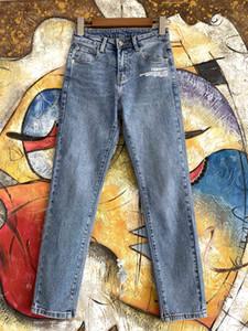 Milão Runway Jeans 2020 Primavera-Verão Moda de designers da Mulher marca de jeans mesmo estilo Jeans 0305-6