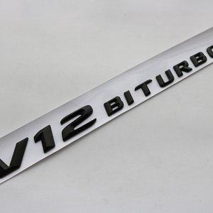 جديد وصول رسائل 3D شعار شارة لAMG C63 E300L V8 BITURBO V12 BITURBO الحاجز جانبية سوبر تشارج توربو سيارة ملصق التصميم