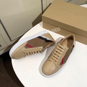 Burberry shoes mode chaud Derbies Designer Confort luxe Jolie Sneakers Chaussures en cuir Casual Hommes Sneakers bbr200416