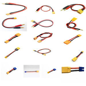 FUSE MODEL RC Battery cable charger leads Amass XT30 XT60 XT90 XT90S XT150 AS150 XT120 4mm EC3 for imax b6 ISDT SKYRC