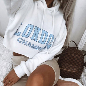 Designer Women's Hoodies Pure White Printed Hoodie New Brand Long Sleeve Women's Fashion Fleeces with Letter Printing Size S-L Wholesales 0.