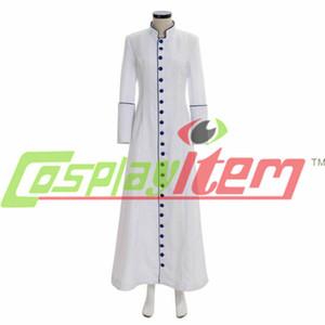 Ministro das Mulheres Cassock Choir Cassock Robe Clergy Púlpito Vestimenta Litúrgica