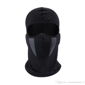HEROBIKER Balaclava Motorcycle Face Mask Moto Helmet Bandana Hood Ski Neck Full Face Mask Windproof Dustproof Face Shield (Retail)